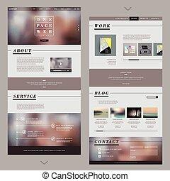 אתר אינטרנט, עצב, עמוד, דפוסית, מישהו