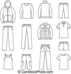 בגדים רגועים