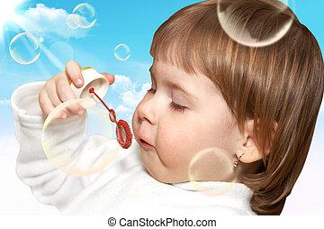 בועות, סבון