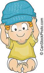 בחור של תינוק, כובע קטן