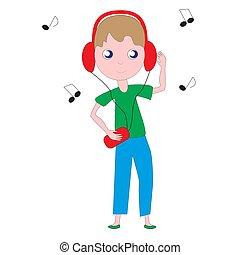 בחור, music., להקשיב