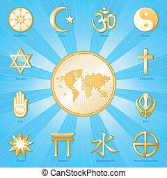 בינלאומי, אמונה, עולם