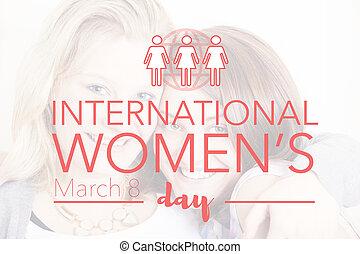 בינלאומי, יום, נשים, צעד, 8