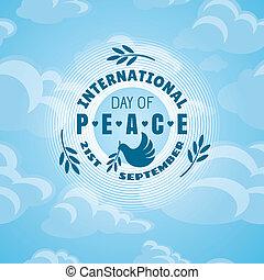 בינלאומי, שלום, יום