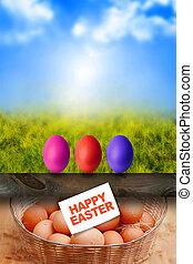 ביצים, חג הפסחה, עלית שמש