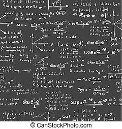 בית ספר, איקונים, מדע, pattern., seamless, השקע, חינוך