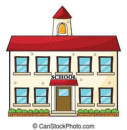 בית ספר, בנין