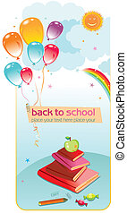 בית ספר, השקע, card.