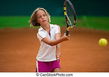 בית ספר, טניס