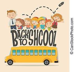 בית ספר, תימה, מורה, תלמידים, השקע