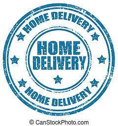 בית, delivery-stamp