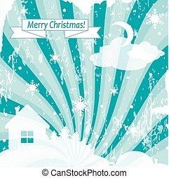 בציר, חג המולד, רקע