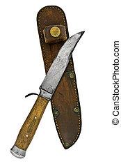 בציר, סכין