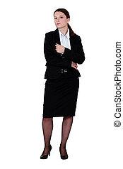 ברונט, אישת עסקים