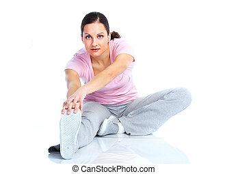 בריא, אולם התעמלות, lifestyle., כושר גופני