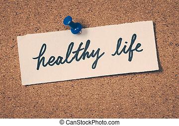 בריא, חיים