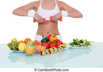 בריא חי, אישה, סגנון חיים