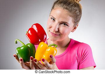 בריא, ירקות