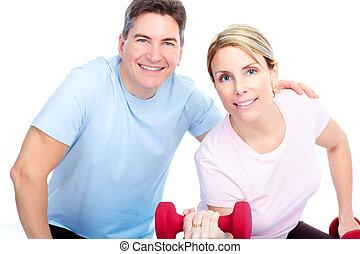 בריא, כושר גופני, אולם התעמלות, סגנון חיים