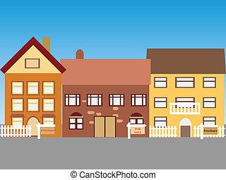 בתים, למכירה