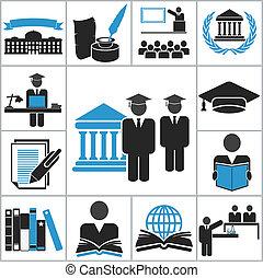 גבוה, חינוך, איקונים