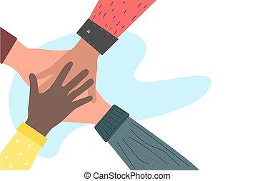 גברים, ידיים, אזרחויות, ביחד., שונה