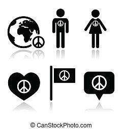 גלובוס, סימן של שלום, י.כ., אנשים