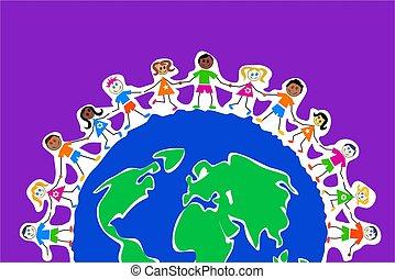 גלובלי, ילדים