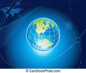 גלובלי, קשר