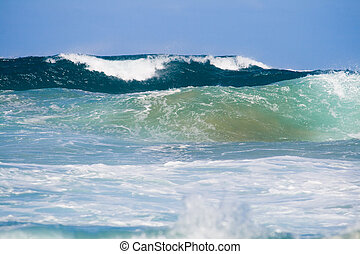 גלים, אוקינוס