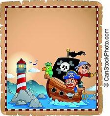 גנוב, קלף, סירה
