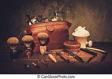 ג'נטלמן, לוח מעץ, מותרות, אביזרים