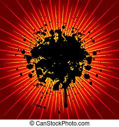 גראנג, התפוצצות
