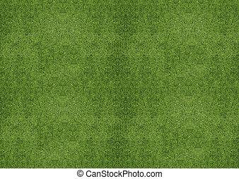 גראסלאנד, ירוק, טקסטורה