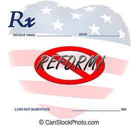 דאג, בריאות, נגד, reform