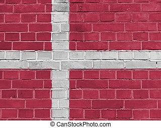 דאני, קיר, דגל של דנמרק, פוליטיקה, concept: