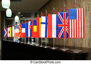 דגלים בינלאומיים
