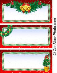 דגלים, חג המולד