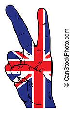 דגלל, שלום, בריטי, חתום