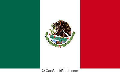 דגלל, של, מקסיקו