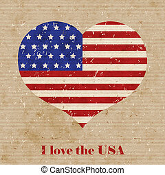 דגל אמריקאי, דוגמה