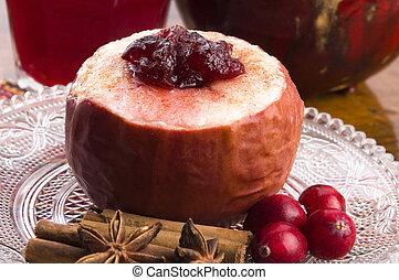 דחוס, תפוחי עץ אפוהים, קרנברי