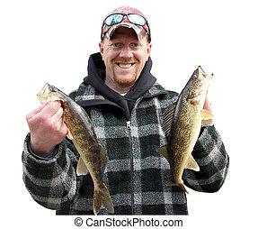 דייג, הפרד, שמח