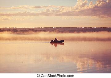 דייג, סירה