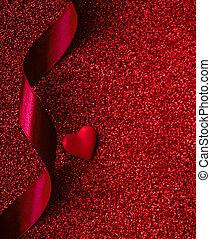 דירה, סרט, אהוב, ורדים, copyspace., concept., ולנטיינים, כרע, נייר, שים, רקע, לבבות, שמח, יום, אדום, ללהוב