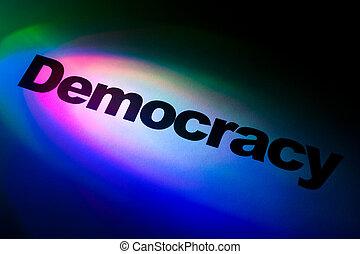 דמוקרטיה