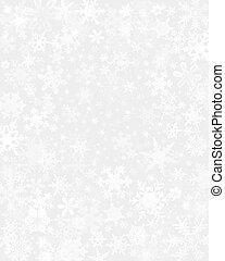 דק, השלג, רקע
