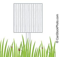 דשא, רקע ירוק