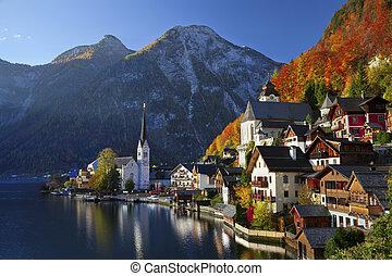 האלסטאט, austria.