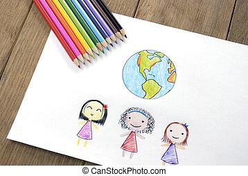 הארק, שונה, ילדים, אזרחויות